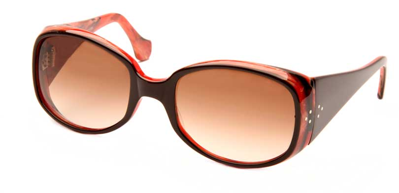 ARISTA::Morgenthal Frederics Acetate Classic Collection.<br />Handcrafted in France, featuring laminated endpiece with tapered temple.